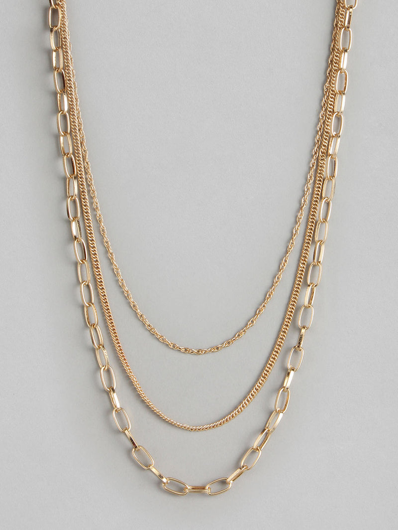 Quadro Line Necklace