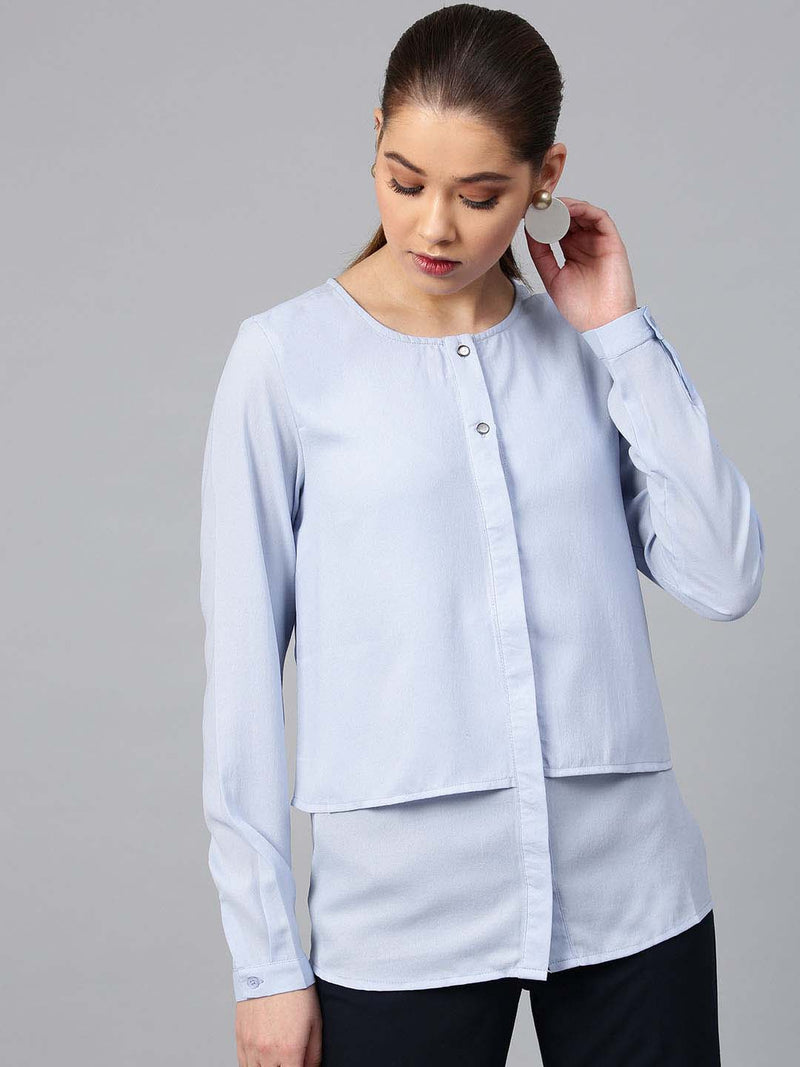 Women Solid Shirt