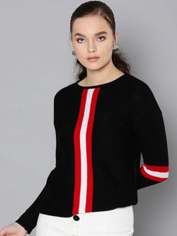 Centre Stripe Sweater