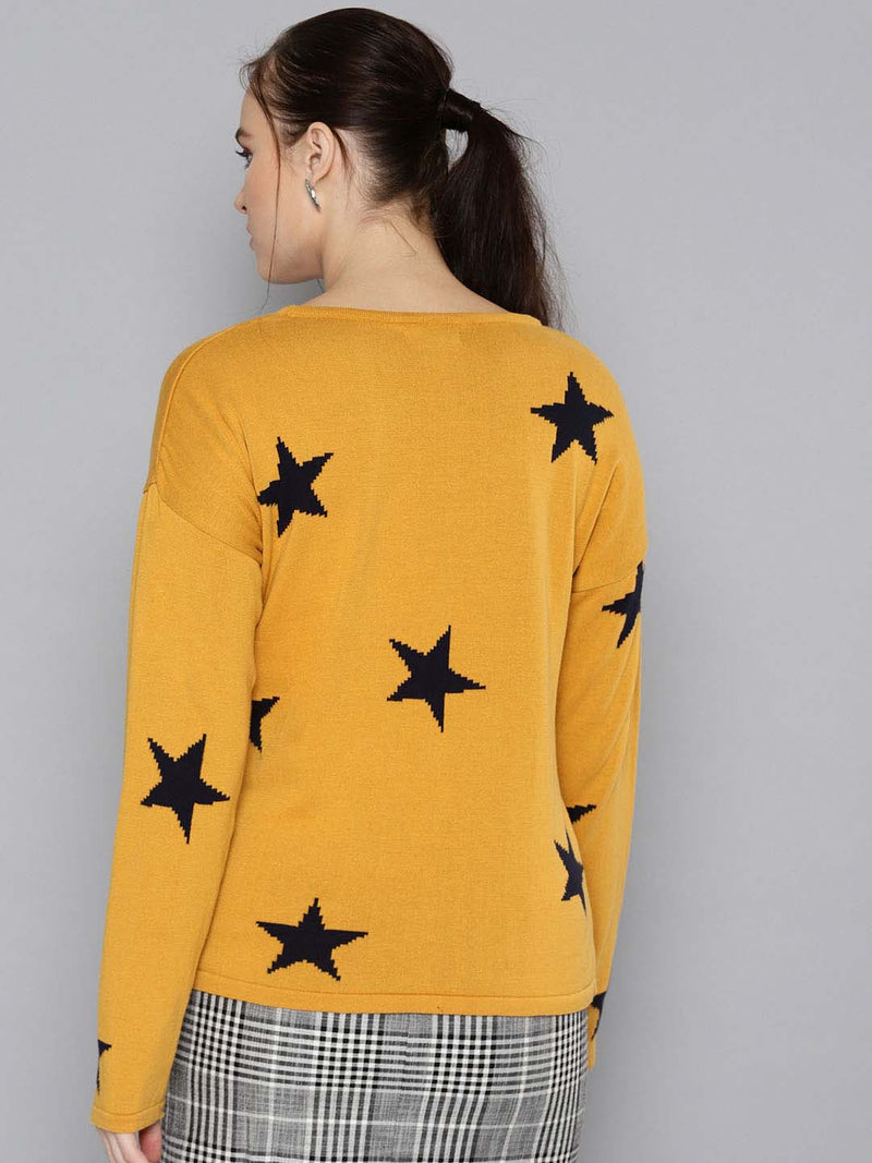 Multi Star Sweater