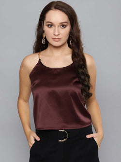 Satin Party Top