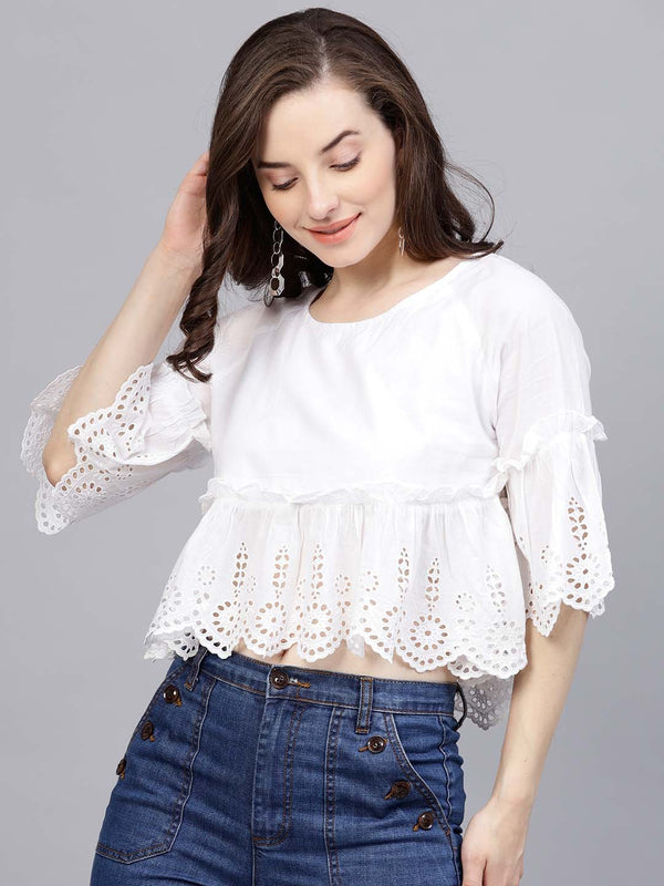 Gathers Bell Sleeve Top