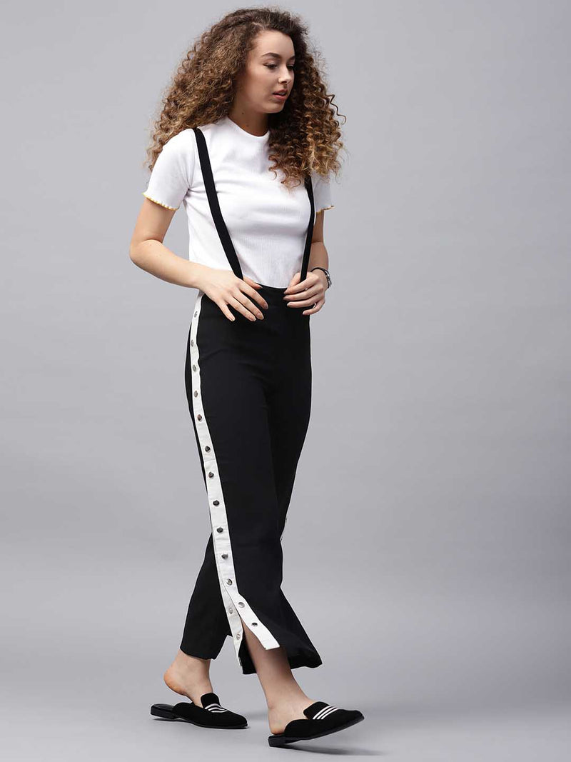 Pinafore Slit Trouser