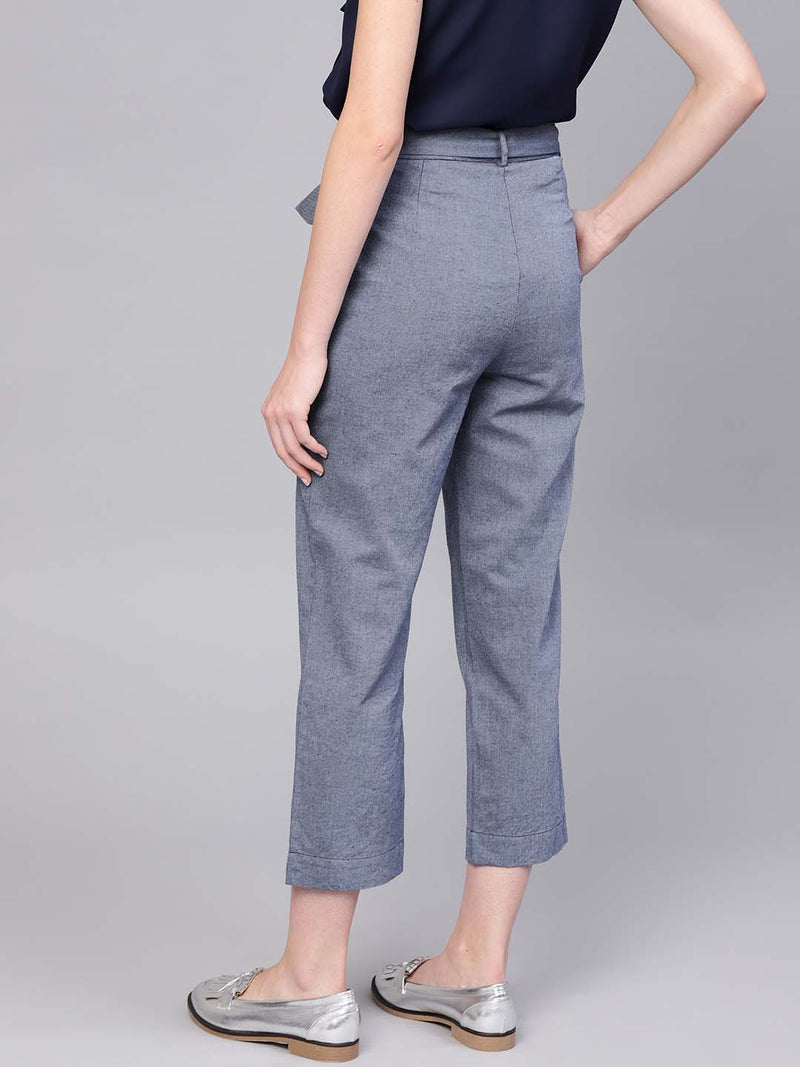 Y/D Trouser With Belt