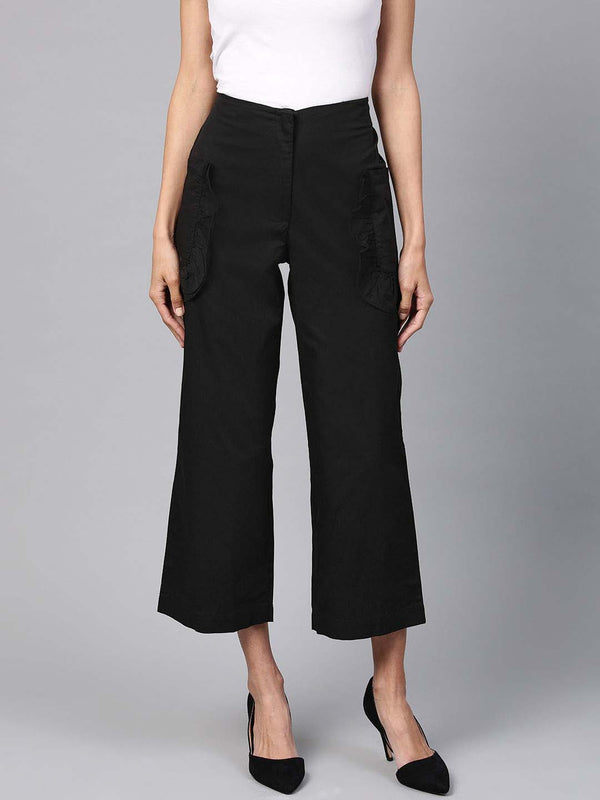 Ruffle Pocket Pants