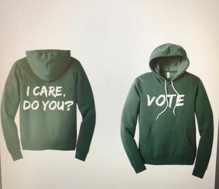 I CARE SWEATSHIRT