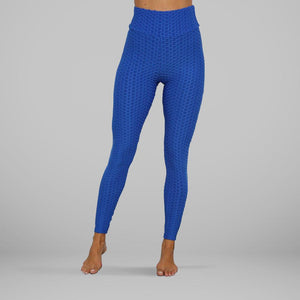 GYMKARTEL® ANTI-CELLULITE AND PUSH UP LEGGINGS - BLUE