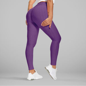 GYMKARTEL® ANTI-CELLULITE AND PUSH UP LEGGINGS - PURPLE
