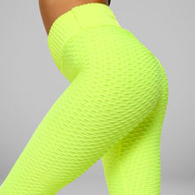 Load image into Gallery viewer, GYMKARTEL® ANTI-CELLULITE AND PUSH UP LEGGINGS - YELLOW