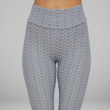 Load image into Gallery viewer, GYMKARTEL® ANTI-CELLULITE AND PUSH UP LEGGINGS - GRAY
