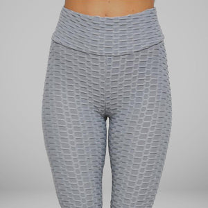 GYMKARTEL® ANTI-CELLULITE AND PUSH UP LEGGINGS - GRAY