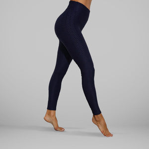 GYMKARTEL® ANTI-CELLULITE AND PUSH UP LEGGINGS - NAVY