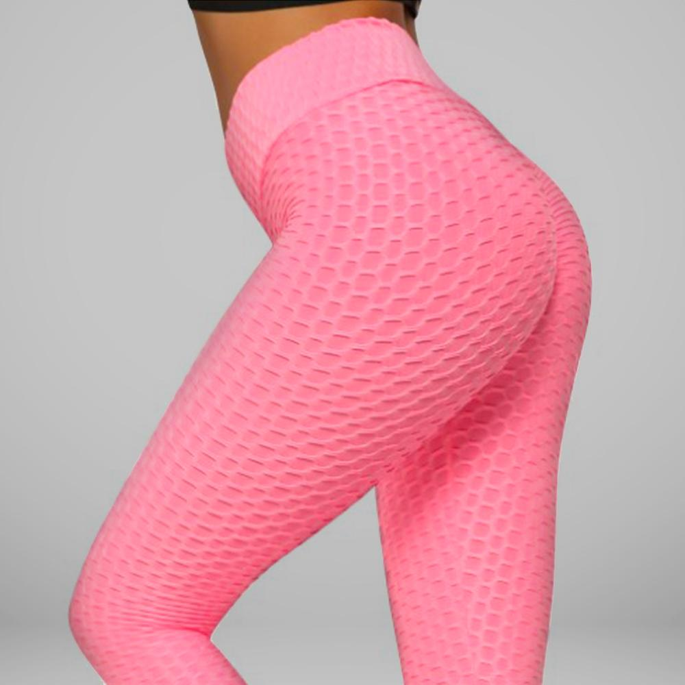 GYMKARTEL® ANTI-CELLULITE AND PUSH UP LEGGINGS - PINK