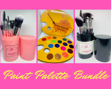 Load image into Gallery viewer, Paint Palette & Brushes Bundle - Loving Lacquer Cosmetics