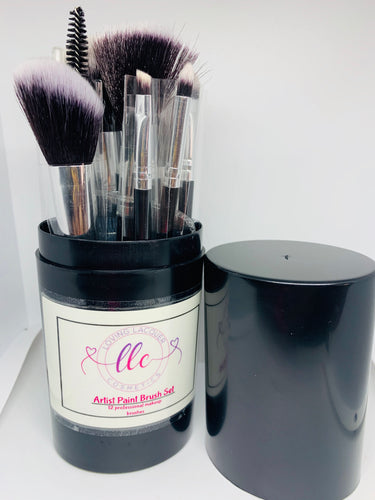 Artist Paint Brush Set- Black - Loving Lacquer Cosmetics