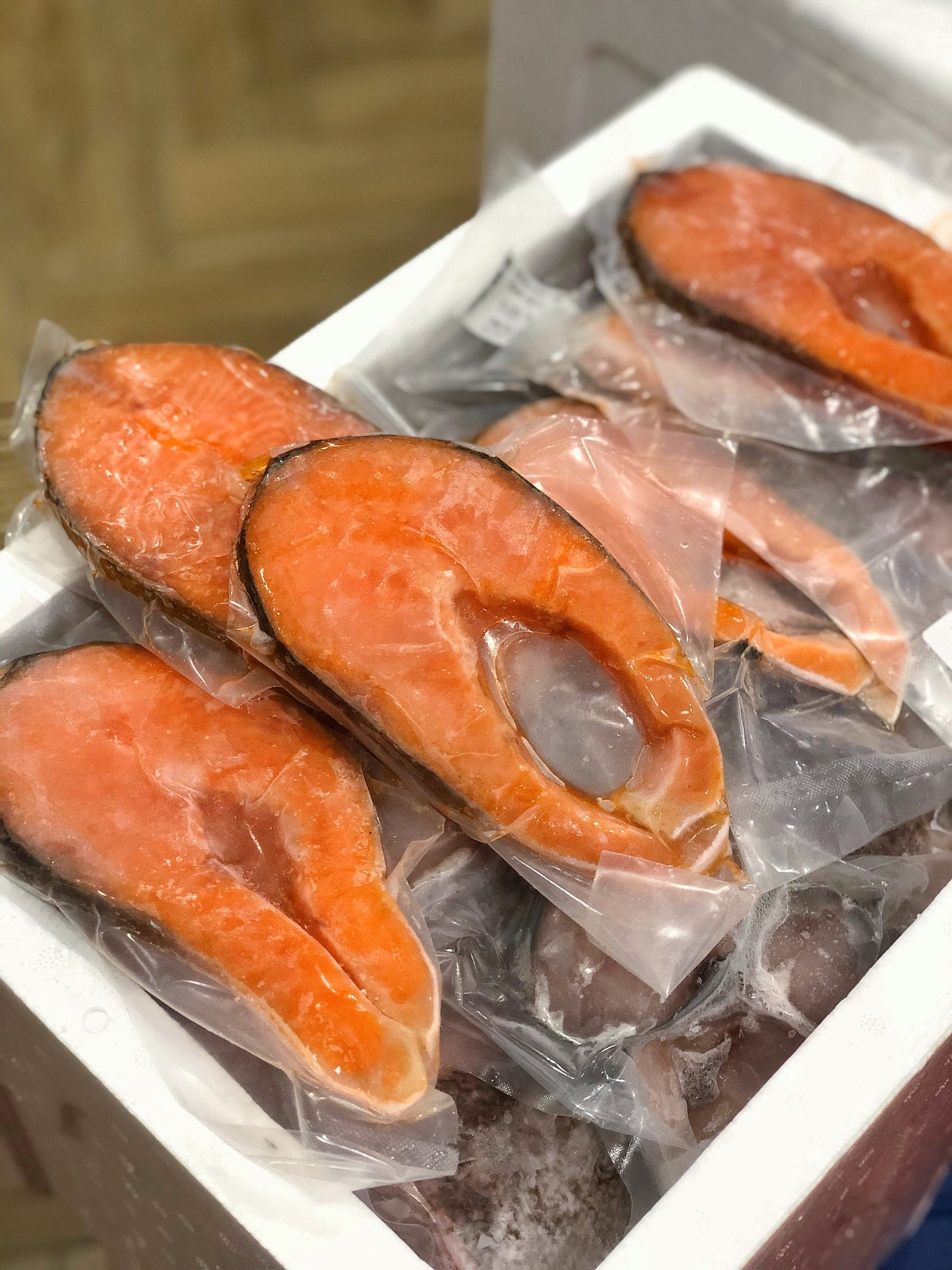 Royale Salmon Steak | 至尊三文鱼扒