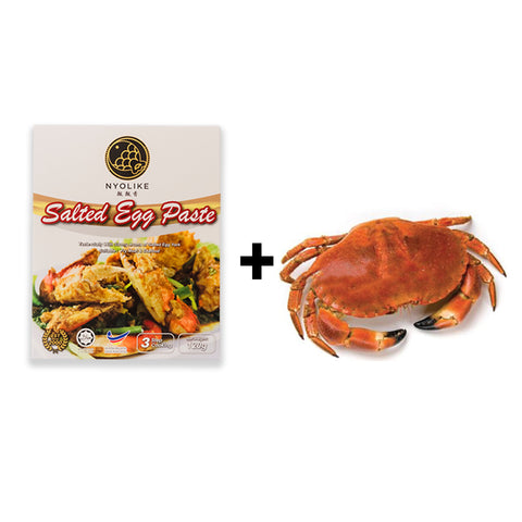[ Combo Deal ] Salted Egg Paste / 咸蛋酱 + French Crab / 面包蟹
