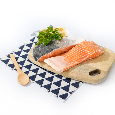 [Double Deal]  Sashimi Graded Norwegian Salmon Fillet / 三文鱼片起肉