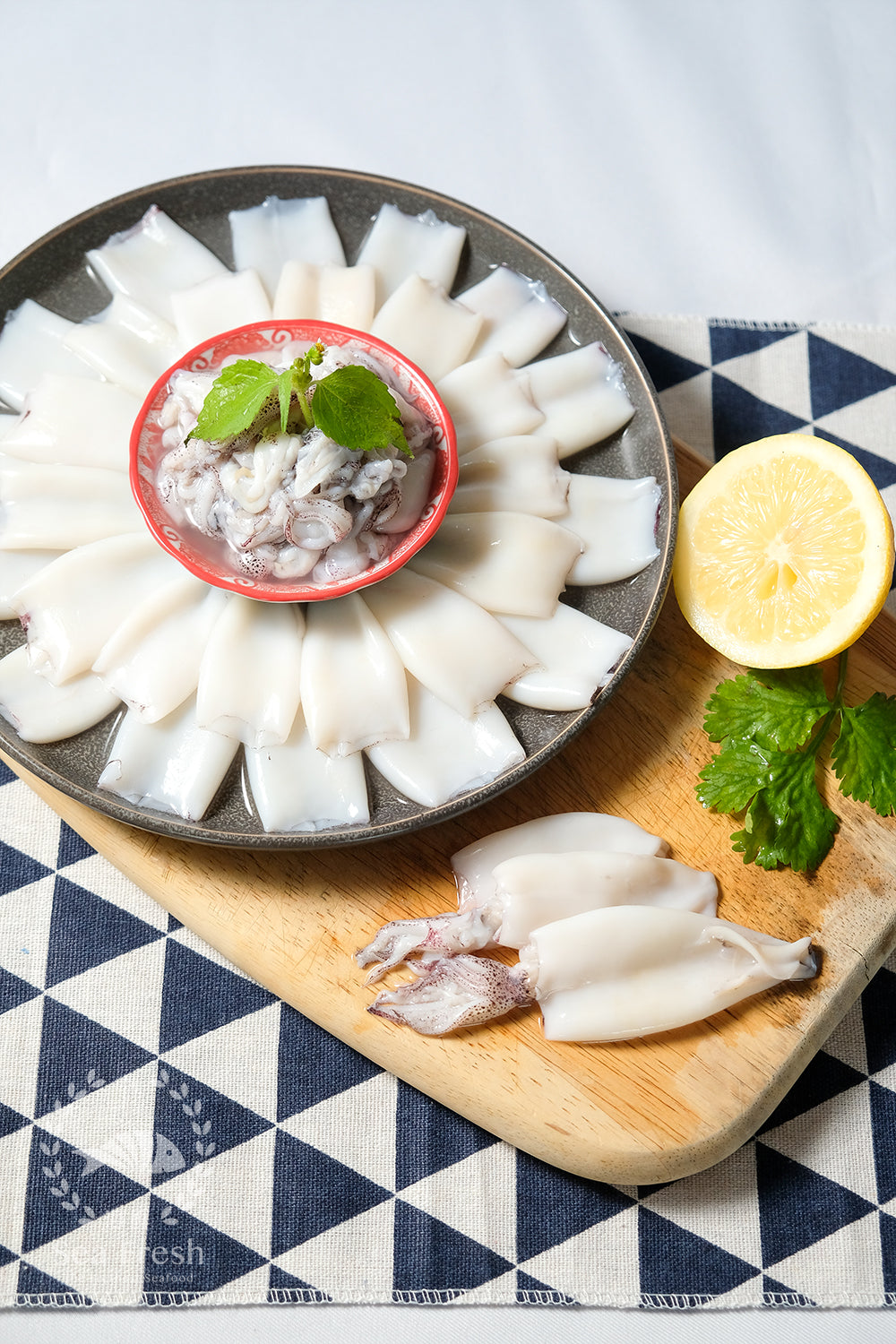 Peeled Whole Squid / 拔沙东肉