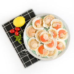 Half Shell Scallop with Roe / 半壳扇贝