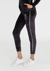Velour Track Pant W/ Namaste Hands