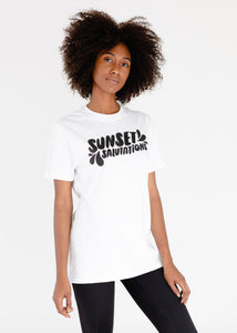 Sunset Salutations Tee