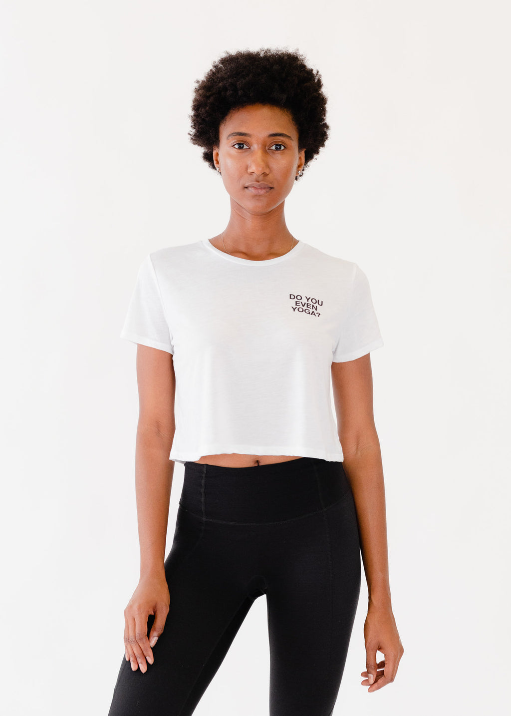 Do You Even Yoga Cropped Tee