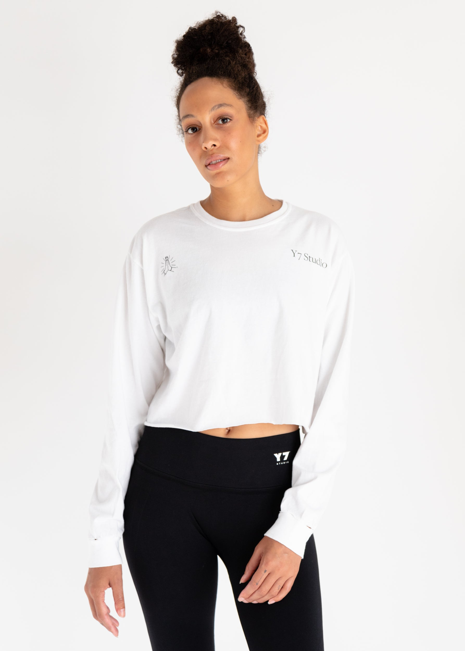 1234567 Cropped Long Sleeve