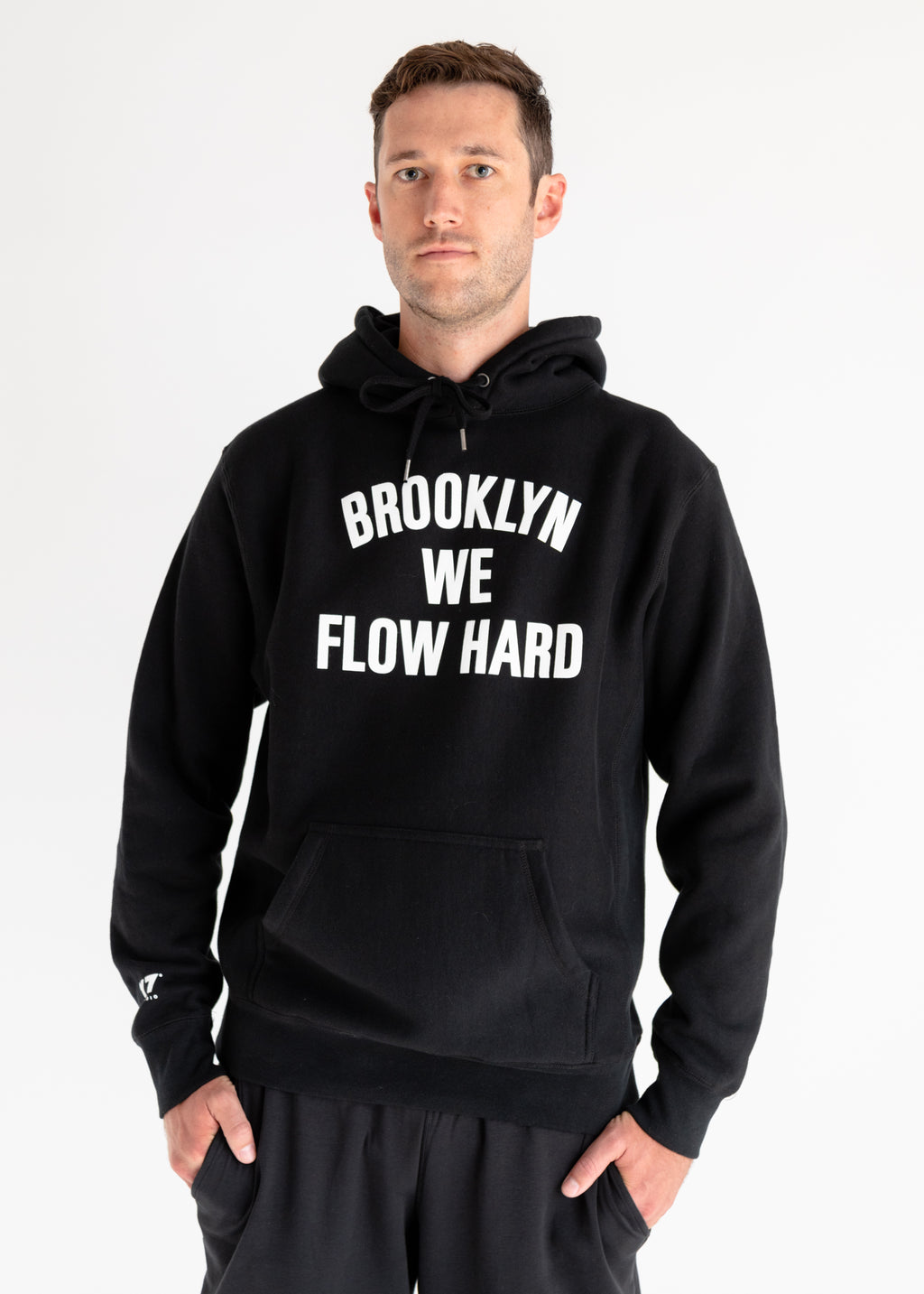 Flow Hard Heavy Weight Hoodie