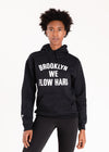 Brooklyn We Flow Hard Hooded Pullover