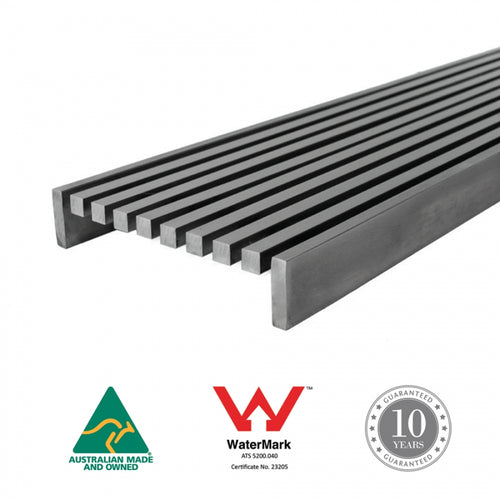 Square Bar Channel Grate