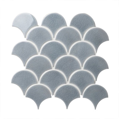 Fish Scale Mosaics grey