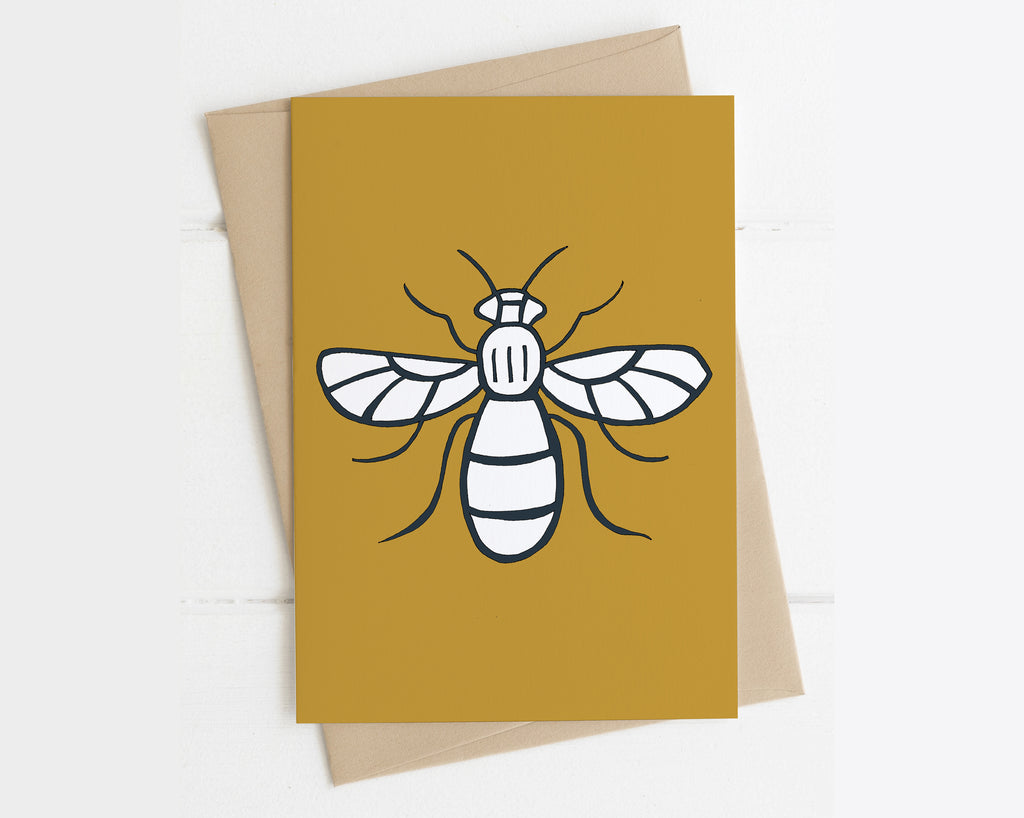 Bee card - Manchester bee card