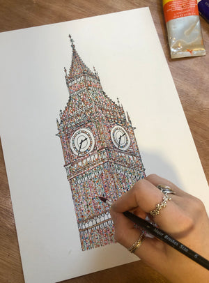Multicoloured Big Ben