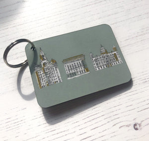 Three Graces Keyring