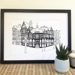 Chester Rows Print