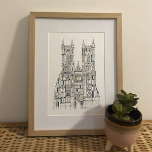 Westminster Abbey print