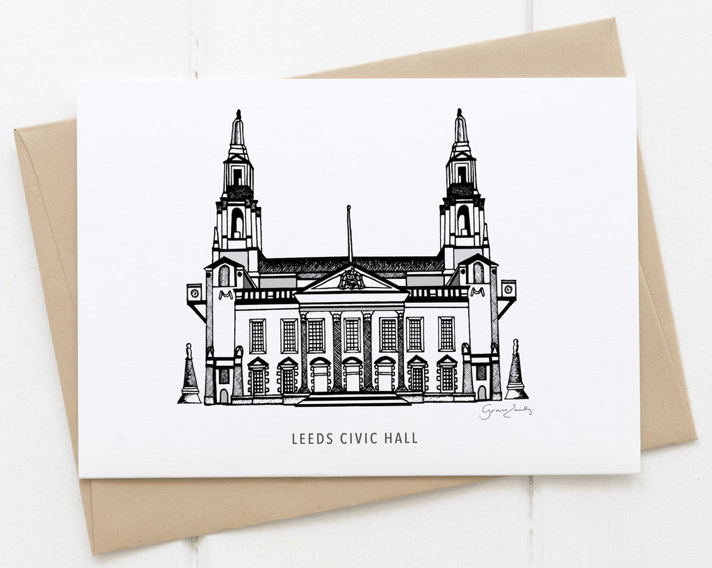 Leeds Civic Hall Card