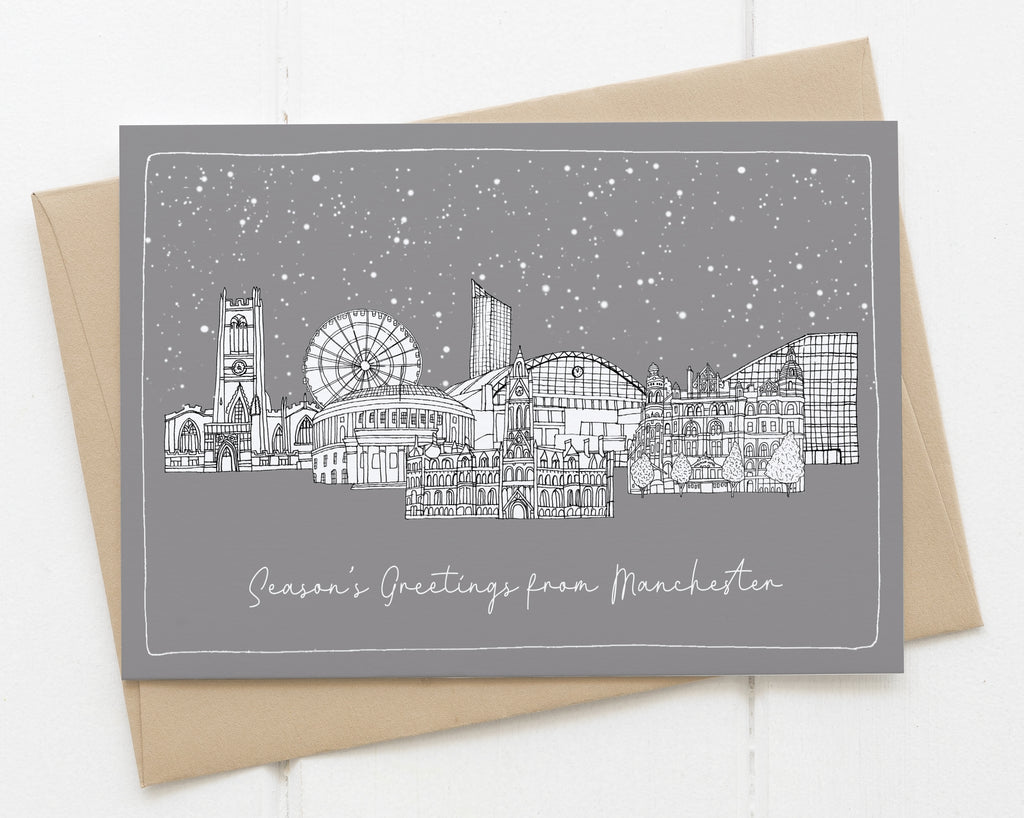 Manchester Christmas card