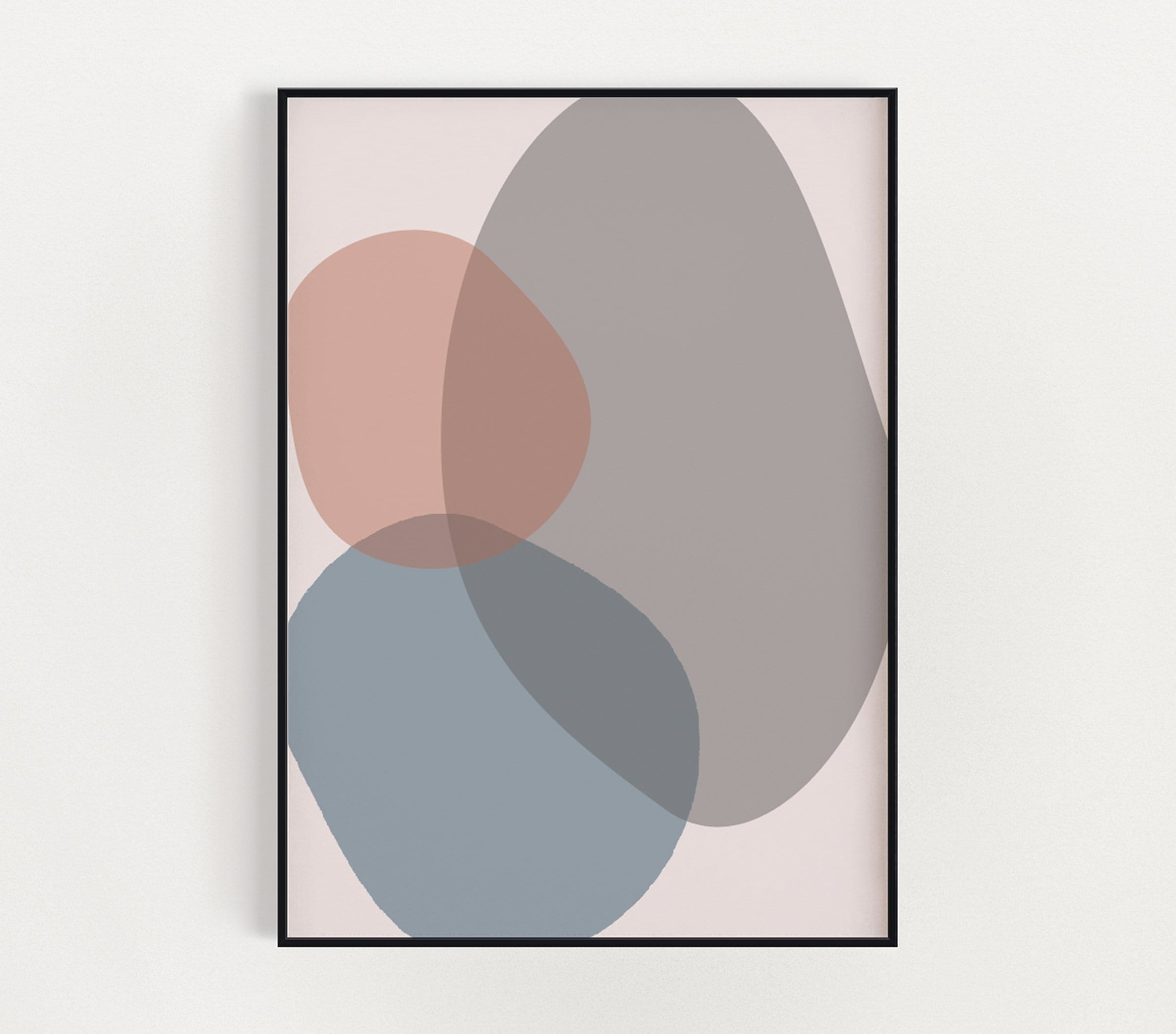 Muted Shapes Print