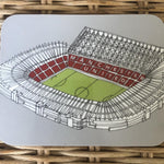 Old Trafford Manchester United Coaster