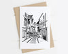 York The Shambles card