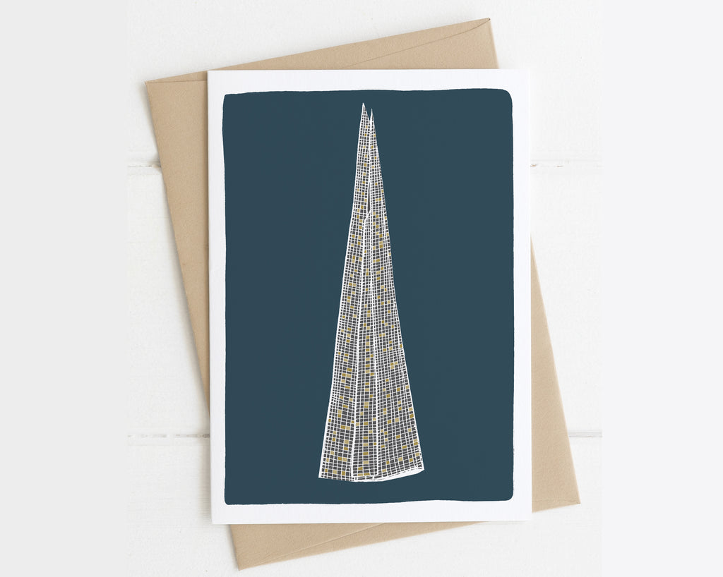 The Shard London card