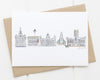 Liverpool Skyline Card