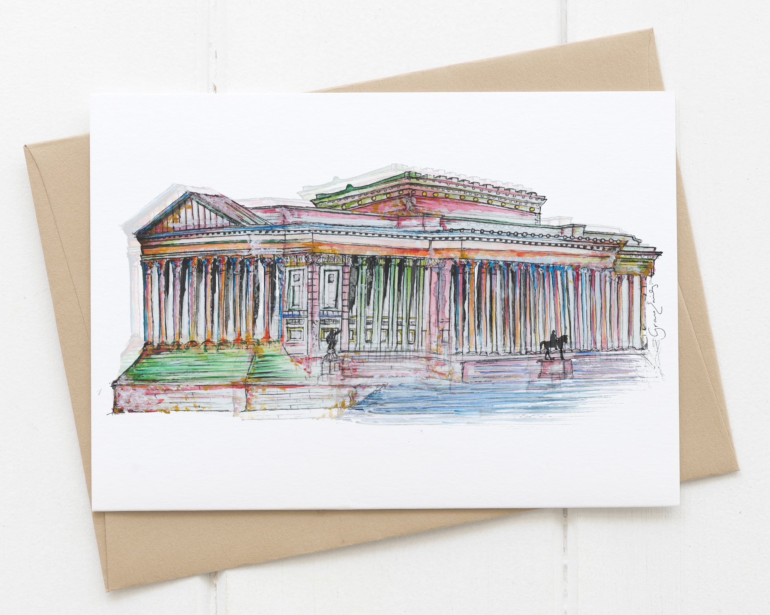 St. George's Hall card
