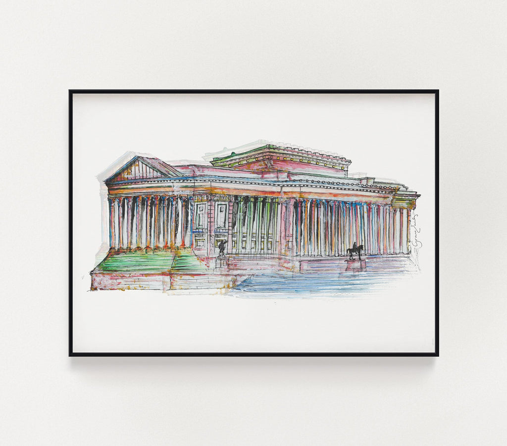 St. George's Hall Print