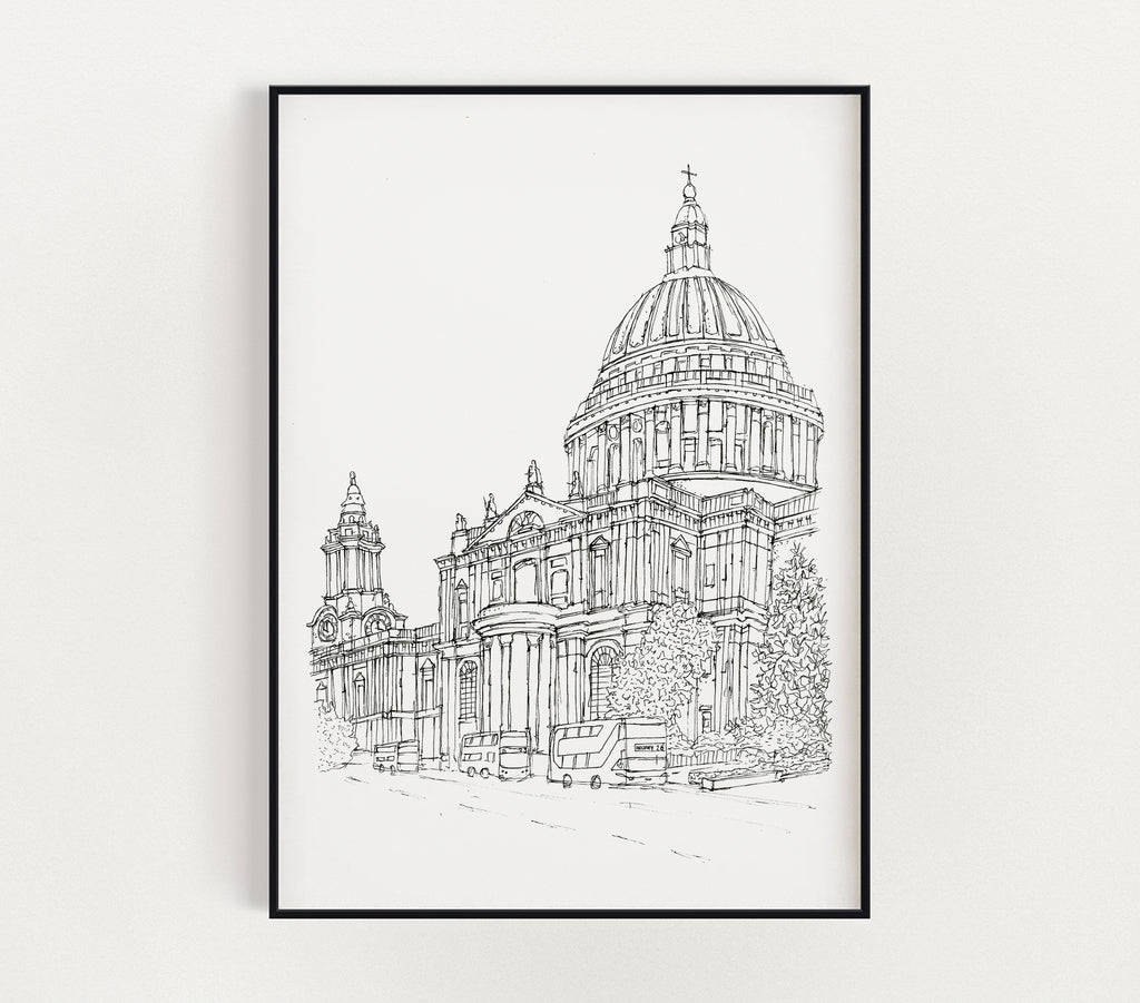 St. Paul's Cathedral print