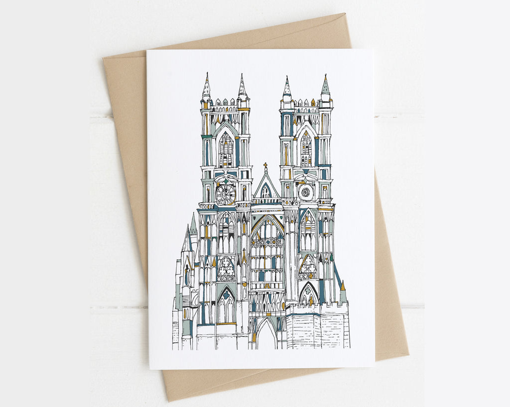 Westminster Abbey London card