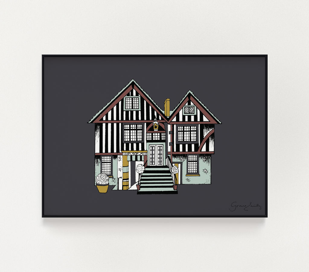 York Merchants Adventurer's Hall print