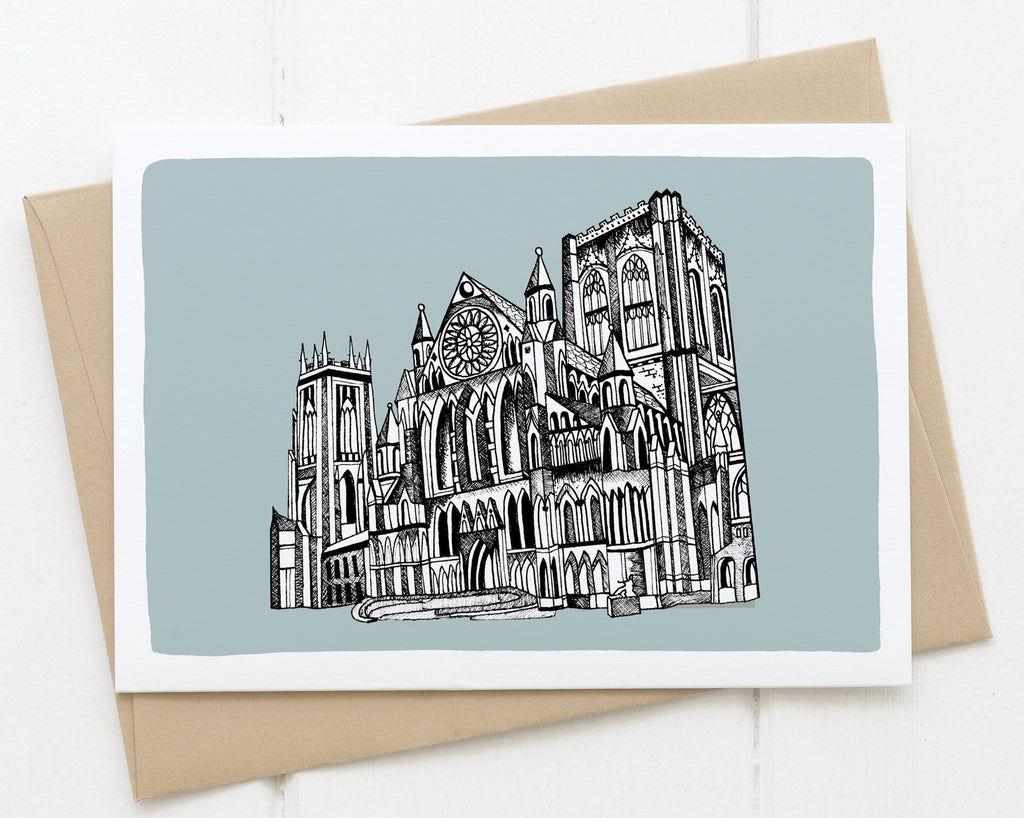 York Minster blue card